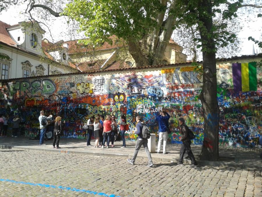 Prague Lennon's Wall